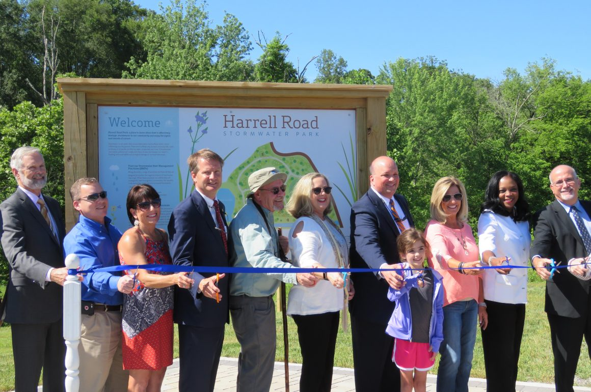 County's first stormwater park opens in Karns - Knox TN Today