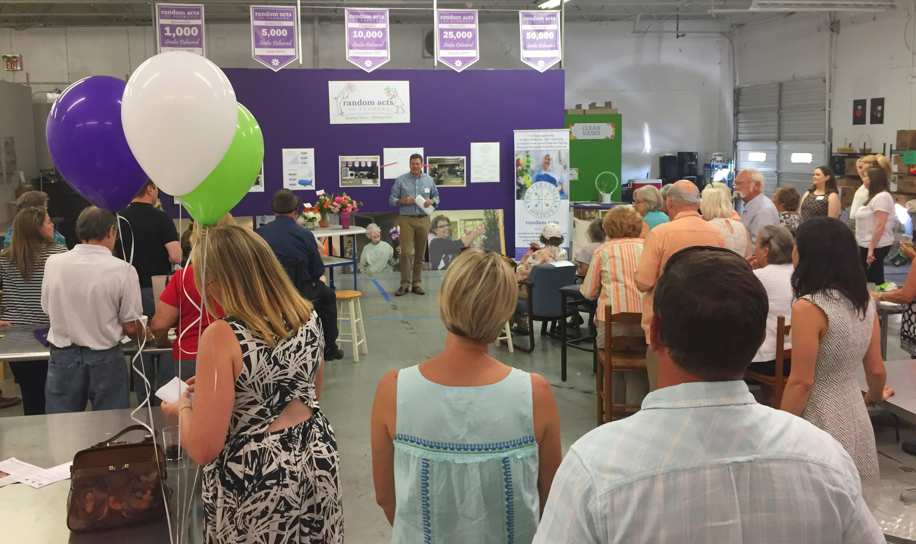 Random Acts of Flowers hosts open house Knox TN Today