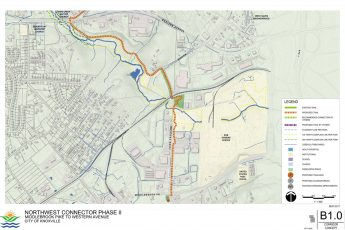 Greenway Extension map