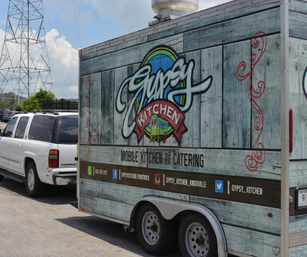 Gypsy Kitchen Food Truck coming to Fountain City Park - Knox
