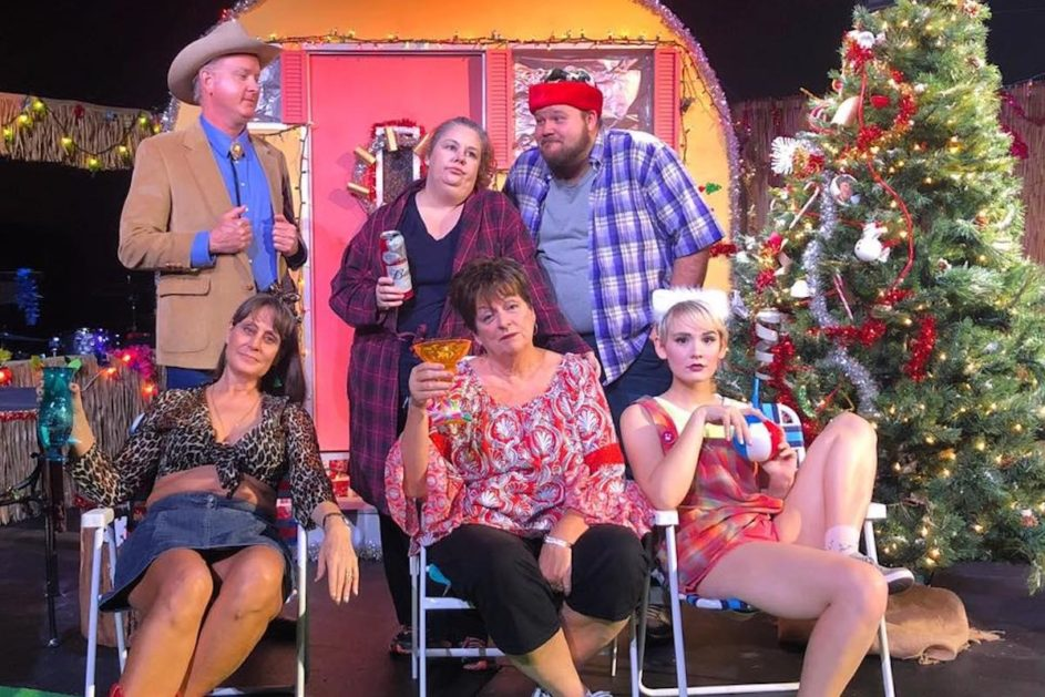 Trailer Park Christmas.Flying Anvil Delivers Terrific Trailer Trash Holiday Knox