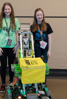 Alex and Amelia are freshman at Oak Ridge High with First Robotics