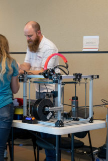 Mechanical Engineer, Ben Green, captures their attention with 3D printing.
