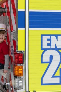 Jaxson Ellis on engine 236