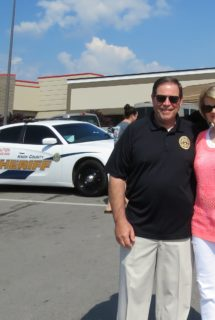 Sheriff Tom and Linda Spangler